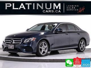 Used 2017 Mercedes-Benz E-Class E400 4MATIC, 329HP, CAM, NAV, PANO, APPLE, ANDROID for sale in Toronto, ON