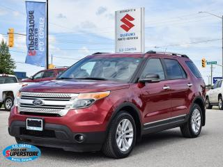 Used 2013 Ford Explorer XLT 4x4 ~7-Passenger ~Nav ~Cam ~Leather ~Bluetooth for sale in Barrie, ON