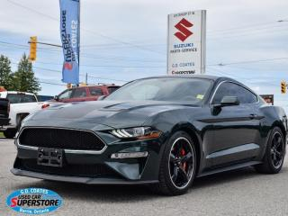 Used 2020 Ford Mustang Bullitt ~480HP 5.0L ~6-Speed Manual ~Recaro Seats for sale in Barrie, ON