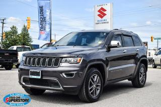 Used 2018 Jeep Grand Cherokee Limited 4x4 ~Nav ~Cam ~Leather ~Sunroof ~Bluetooth for sale in Barrie, ON