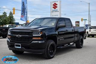 Used 2016 Chevrolet Silverado 1500 Custom Double Cab ~5.3 V8 ~Trailer Tow ~Bluetooth for sale in Barrie, ON