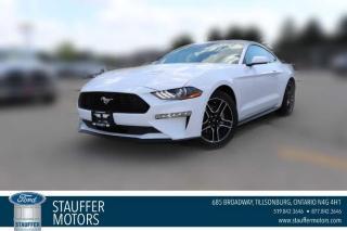 New 2021 Ford Mustang EcoBoost for sale in Tillsonburg, ON