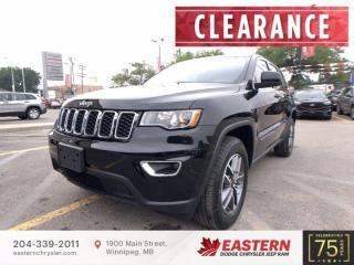 New 2021 Jeep Grand Cherokee Laredo   Backup Camera   Blind Spot Detection   for sale in Winnipeg, MB