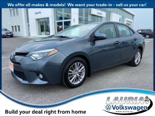 Used 2014 Toyota Corolla LE - Leather / Auto for sale in PORT HOPE, ON