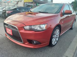 Used 2009 Mitsubishi Lancer RalliArt-EXTRA CLEAN-4WD-BLUETOOTH-AUX-USB-ALLOYS for sale in Scarborough, ON