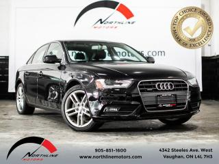 Used 2013 Audi A4 Premium/Navigation/Sunroof for sale in Vaughan, ON