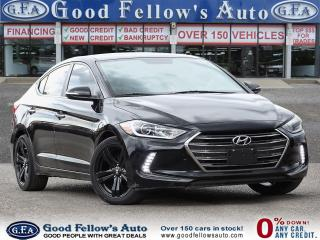 Used 2017 Hyundai Elantra LIMITED, SUNROOF, LEATHER SEATS, NAVI, BLIND SPOT for sale in Toronto, ON