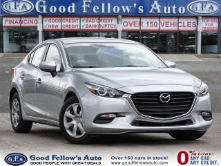 Used 2018 Mazda MAZDA3 GX MODEL, SKYACTIV, 2.0L 4CYL, PUSH BOUTTON START for sale in Toronto, ON