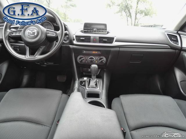 2018 Mazda MAZDA3 GX MODEL, SKYACTIV, 2.0L 4CYL, PUSH BOUTTON START