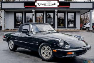 Used 1987 Alfa Romeo Spider Veloce for sale in Ancaster, ON