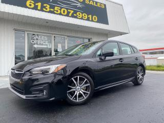 Used 2019 Subaru Impreza Sport One Owner! Clean CarFax! AWD! Sunroof! Dual Screens! for sale in Kingston, ON