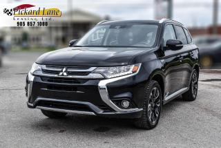 Used 2018 Mitsubishi Outlander Phev GT-S||LEATHER||HYBRID||REVERSE CAM||POWER SUN ROOF!! for sale in Bolton, ON
