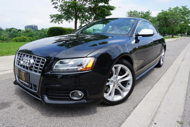 2010 Audi S5 1 OWNER /STUNNING COMBO /6SPD MANUAL /TECH PACKAGE