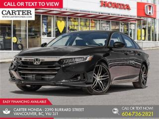 New 2021 Honda Accord Touring 1.5T for sale in Vancouver, BC