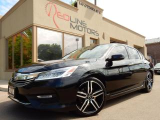 Used 2016 Honda Accord V6 Touring.Navi.Camera.HondaSense.Leather.Roof for sale in Kitchener, ON