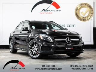 Used 2015 Mercedes-Benz GLA GLA 45 AMG/Sunroof/Navi/collision prevention for sale in Vaughan, ON