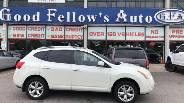 2010 Nissan Rogue SL MODEL, AWD, LEATHER SEATS, POWER SEAT, SUNROOF