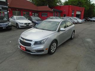 Used 2016 Chevrolet Cruze LT/ REAR CAM/ REMOTE START / A/C / NEW TIRES / for sale in Scarborough, ON