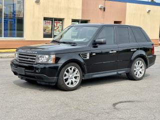 Used 2009 Land Rover Range Rover Sport HSE Navigation /Sunroof/Camera//51K for sale in North York, ON