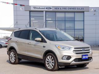 Used 2018 Ford Escape Titanium ROOF   NAV   CLEAN CARFAX   LOW KM for sale in Winnipeg, MB