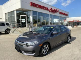 Used 2017 Honda Civic LX MANUAL | APPLE CARPLAY for sale in Winnipeg, MB