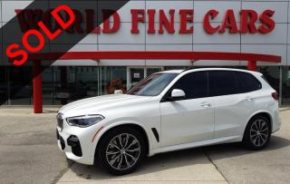 Used 2020 BMW X5 xDrive40i   LOADED!   Accident Free!   Ontario Local for sale in Etobicoke, ON
