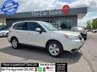 Used 2015 Subaru Forester 2.5i Touring AWD Sunroof, Rear Cam, Bluetooth! for sale in Winnipeg, MB