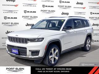 New 2021 Jeep Grand Cherokee All-New L Limited for sale in Port Elgin, ON
