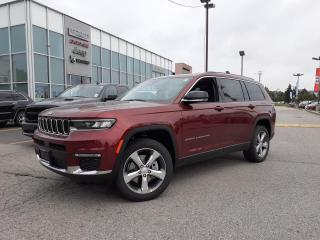 New 2021 Jeep Grand Cherokee All-New L LIMITED 7 PASSENGER NAVI TOW PACKAGE FAM CAM REAR for sale in Pickering, ON