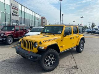 New 2021 Jeep Wrangler UNLIMITED RUBICON LEATHER NAVI REAR CAMERA for sale in Pickering, ON