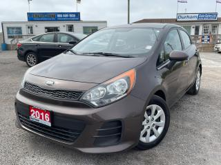 Used 2016 Kia Rio LX+ for sale in Whitby, ON