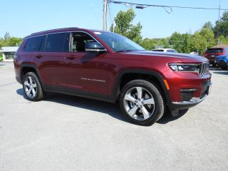 New 2021 Jeep Grand Cherokee All-New L Limited for sale in Trenton, ON