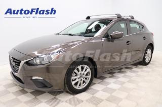 Used 2015 Mazda MAZDA3 GS *CAMERA *A/C *CRUISE *MAGS *HATCHBACK for sale in Saint-Hubert, QC