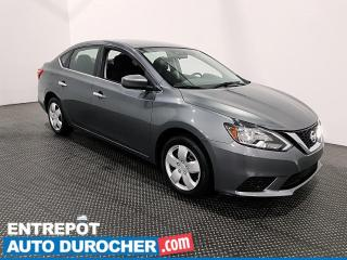 Used 2017 Nissan Sentra S AUTOMATIQUE - Climatiseur - for sale in Laval, QC