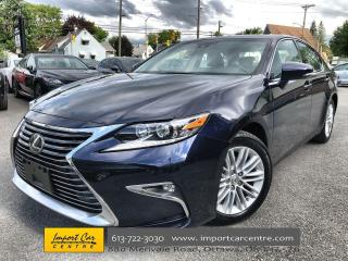 Used 2018 Lexus ES 350 LEATHER  ROOF  HEATED AND VENTILATED SEATS  LEXUS for sale in Ottawa, ON