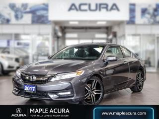 Used 2017 Honda Accord Touring, Navi, Leathers, Sunroof, One Owner for sale in Maple, ON