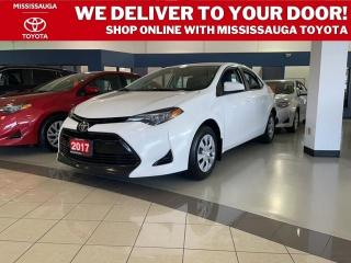Used 2017 Toyota Corolla CE for sale in Mississauga, ON