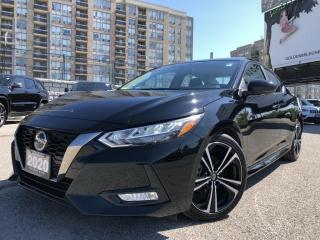Used 2020 Nissan Sentra SR No Accidents, Sunroof, Heated Seats, Heated Steering, Rear View Camera for sale in North York, ON