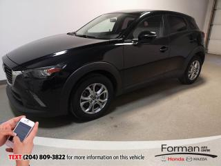 Used 2016 Mazda CX-3 GS AWD|N.Tires|Htd Seat|Camera|Local- Just arrived for sale in Brandon, MB