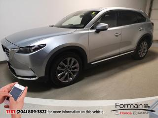 Used 2020 Mazda CX-9 GT|Manager Special|Executive Driven|Save Thousands for sale in Brandon, MB