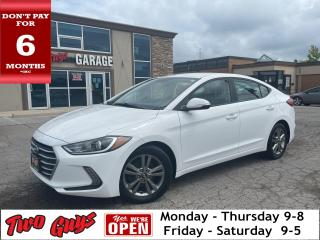 Used 2017 Hyundai Elantra Parking Assist Rear Heated Front Seats A/C for sale in St Catharines, ON