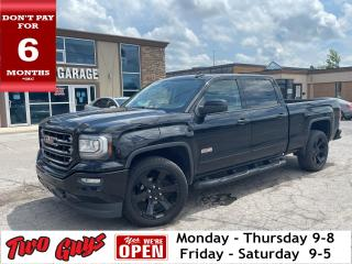 Used 2018 GMC Sierra 1500 SLT | 5.3L 4WD Crew | All Terrain | Leather | Nav for sale in St Catharines, ON