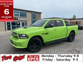 Used 2017 RAM 1500 4WD Navigation Back Up Camera Moonroof Keyless Go for sale in St Catharines, ON