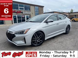 Used 2019 Hyundai Elantra SPORT | Leather | Auto | Sunroof | New Tires | for sale in St Catharines, ON