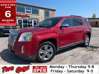 Used 2014 GMC Terrain Sunroof Back Up Camera Pioneer Sound System for sale in St Catharines, ON