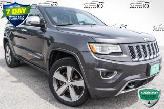 Used 2016 Jeep Grand Cherokee Overland 19 SPEAKER SOUND SYSTEM!! DVD PACKAGE!! LEATHER!! for sale in Barrie, ON