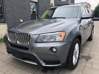 Used 2013 BMW X3 AWD 28i for sale in Nobleton, ON
