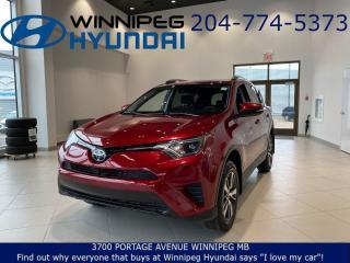 Used 2018 Toyota RAV4 LE - Lane departure alert, Pre collision system for sale in Winnipeg, MB