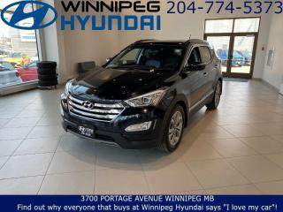 Used 2016 Hyundai Santa Fe LIMITED - Panoramic sunroof, Heated and ventilated front seats for sale in Winnipeg, MB