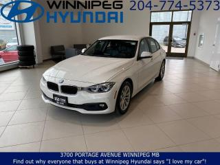 Used 2017 BMW 3 Series 320I XDRIVE - Premium audio system, Auto climate control for sale in Winnipeg, MB